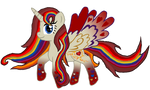 Birthday Gift for Akira-the-Alicorn - Rainbowfied