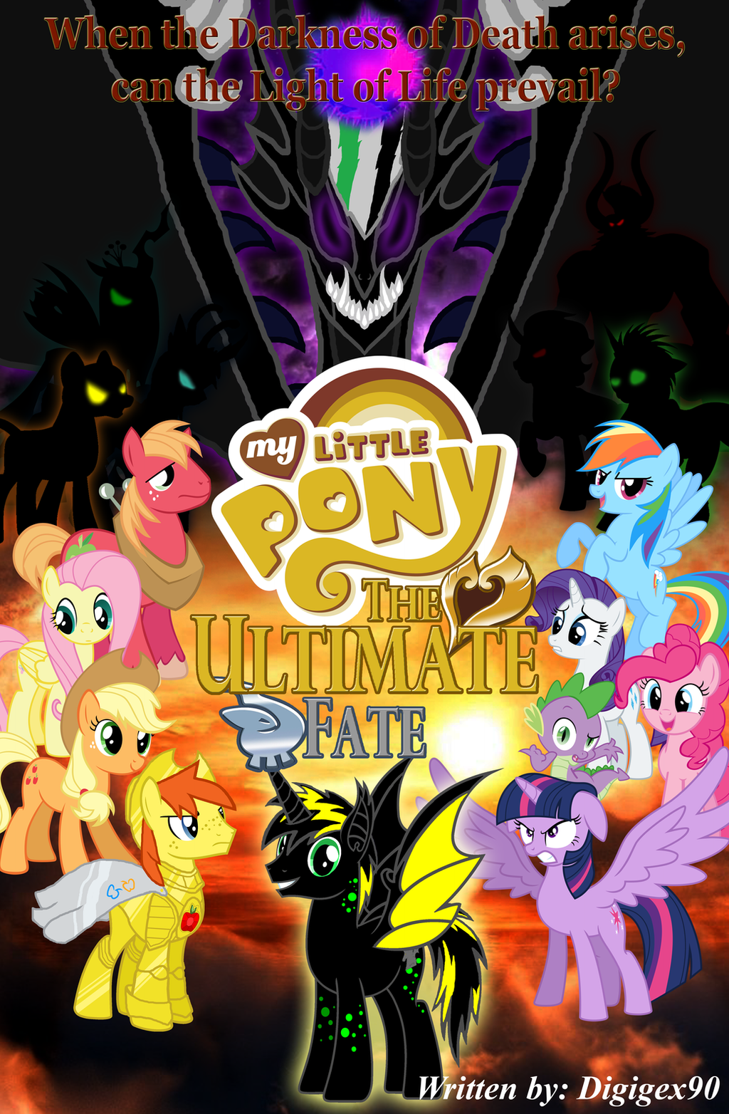 my little pony meet star wars