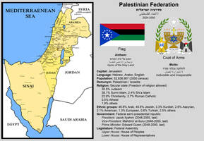 The Palestinian Federation (2024-2050) by Crisostomo-Ibarra