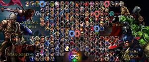 Disney vs. Capcom - Full Roster