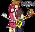 Kingdom Hearts III - Sora and Kairi