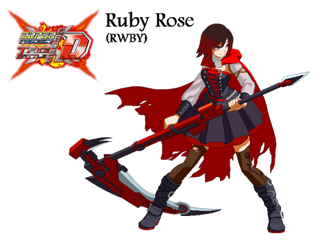 Super Project Cross Tag Battle Destiny - Ruby Rose