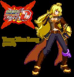 Super Project Cross Tag - Yang Xiao Long