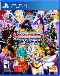 Anime Complex: Cross Arena 2020 - Game Cover by Crisostomo-Ibarra