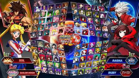 Super Project Cross Tag Battle - Character Roster by Crisostomo-Ibarra