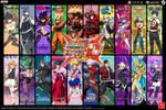 Super Project Cross Tag Battle Wallpaper