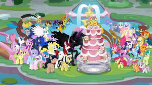 Happy 35th Anniversary, My Little Pony!