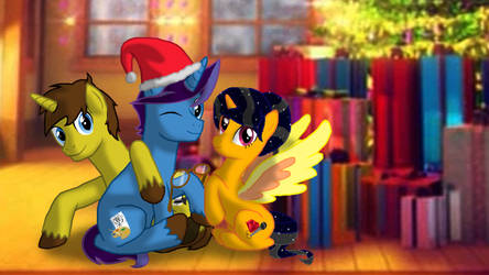 A Merry Hearth's Warming for Three