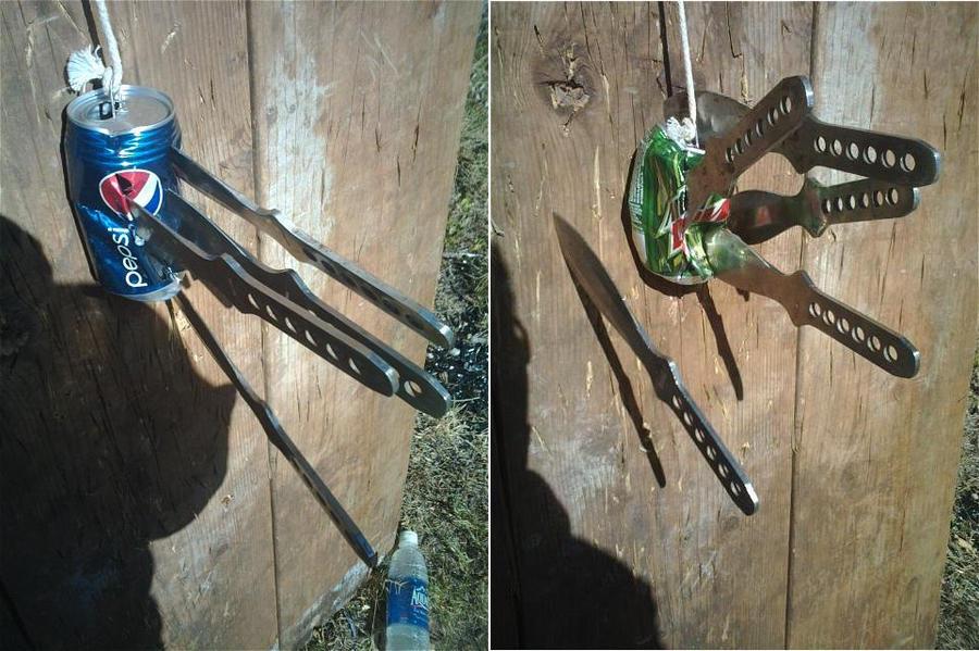 Knife Throwing 1 By Hawaiianstile On DeviantArt