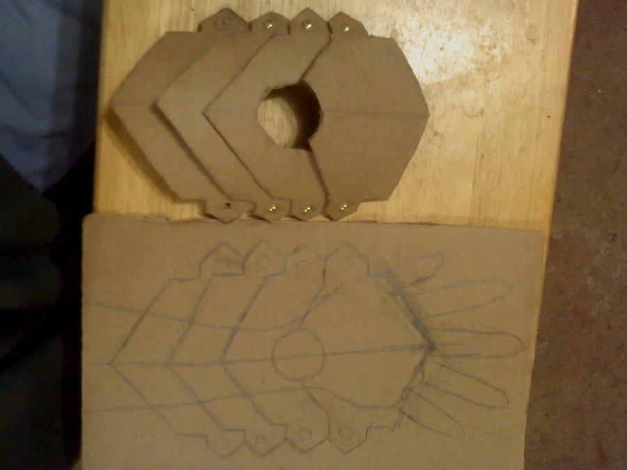 inui tekkou sketch and prototype by hawaiianstile