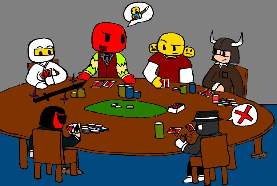 Poker Night by BlazerZC