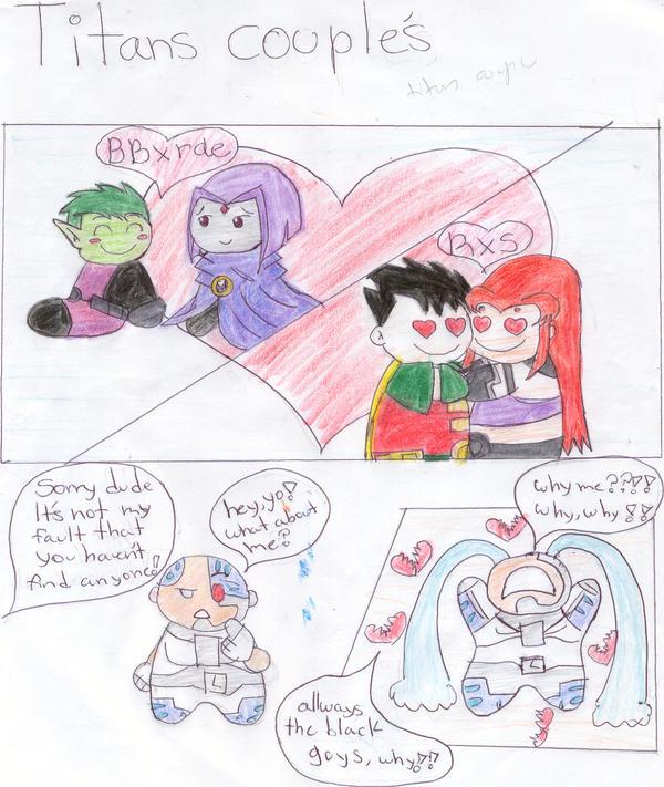 Teen Titans Couples 19