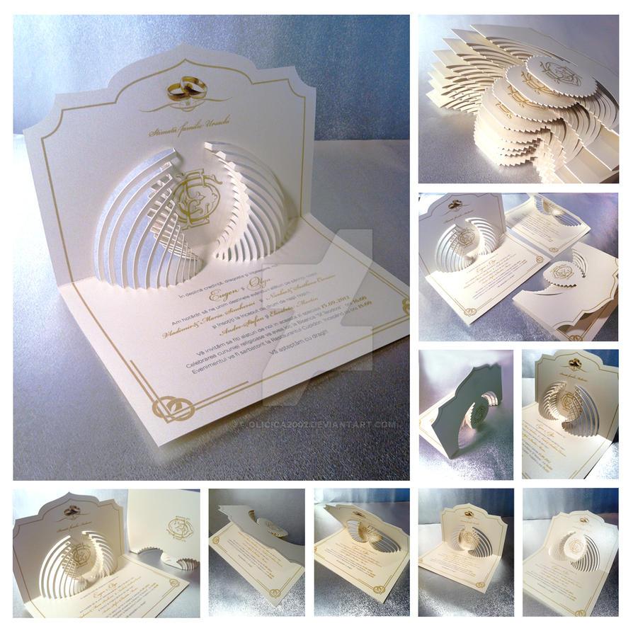 High End Wedding Invitation By Olga Cuzuioc By Olicica2002 ...