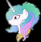 Princess Celestia alternative haircut