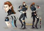 Commission: Rathkaelian -character sheet-