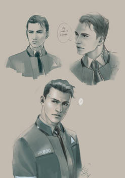 RK800 Connor -practice