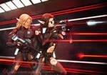 Commission: Frontal Assault by LaraYokoshima