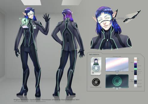Davin Valkri -character sheet