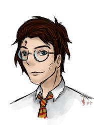 Harry Potter by ZheVickmeister