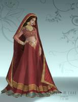 Wedding Dress: Jasmine by ZheVickmeister