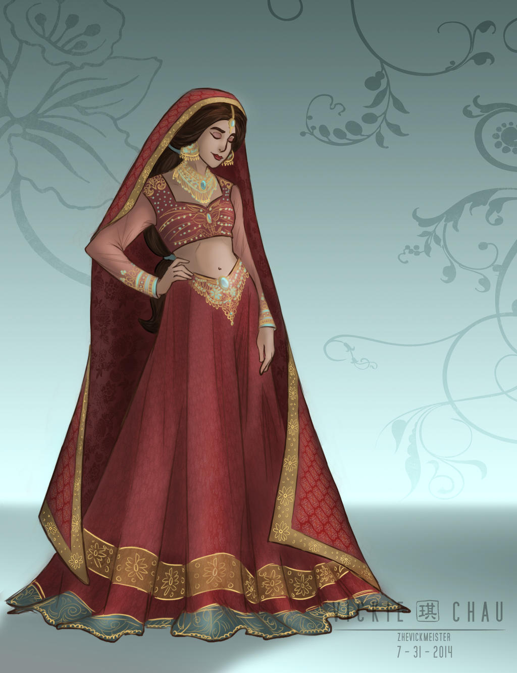 Disney princess wedding dresses jasmine