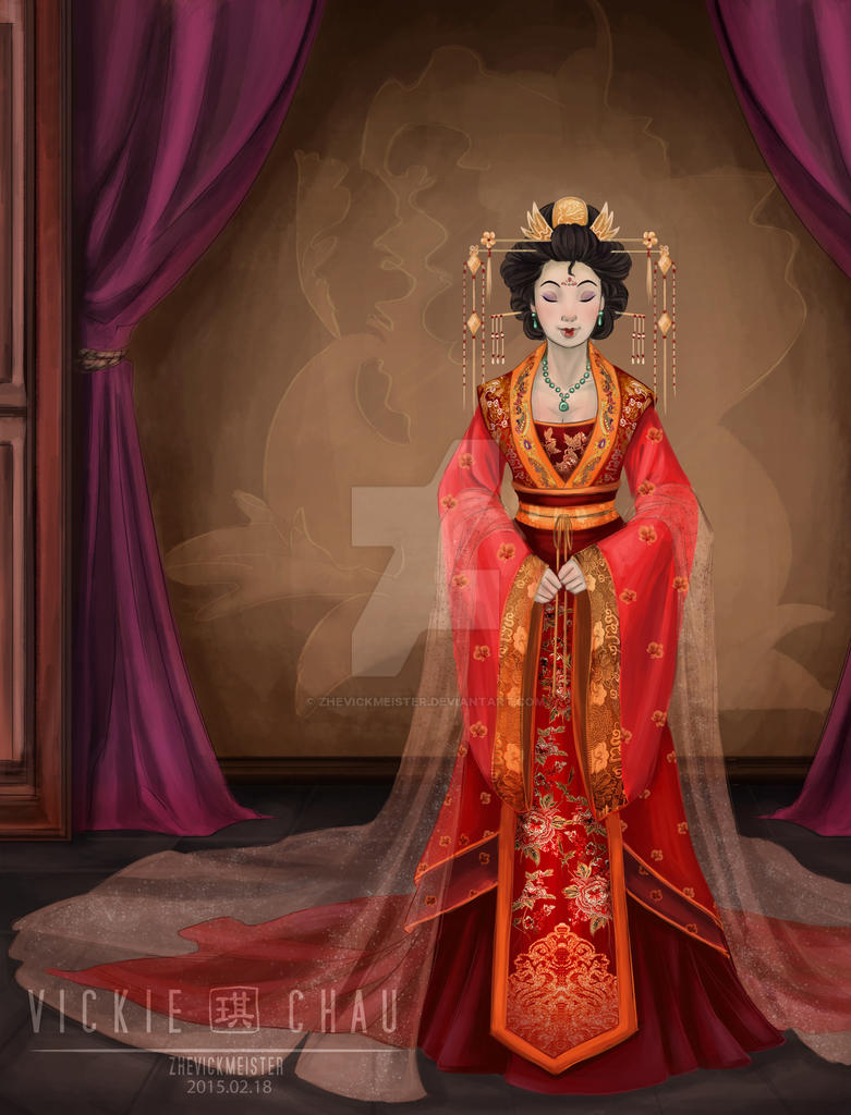 The history of the spree in traditional chinese wedding