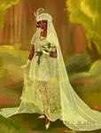 Wedding Dress: Tiana