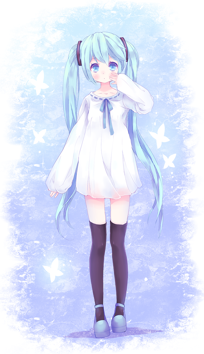 Cutie Miku by Yoai