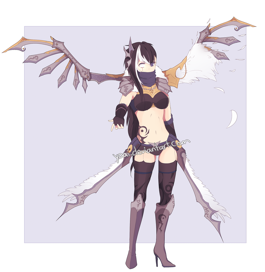 Blade Angel Adopt AUCTION [OPEN] by Yoai