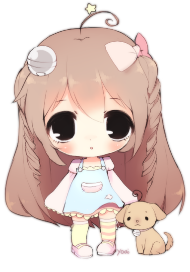 Chibi Commission 1 By Yoai On DeviantArt
