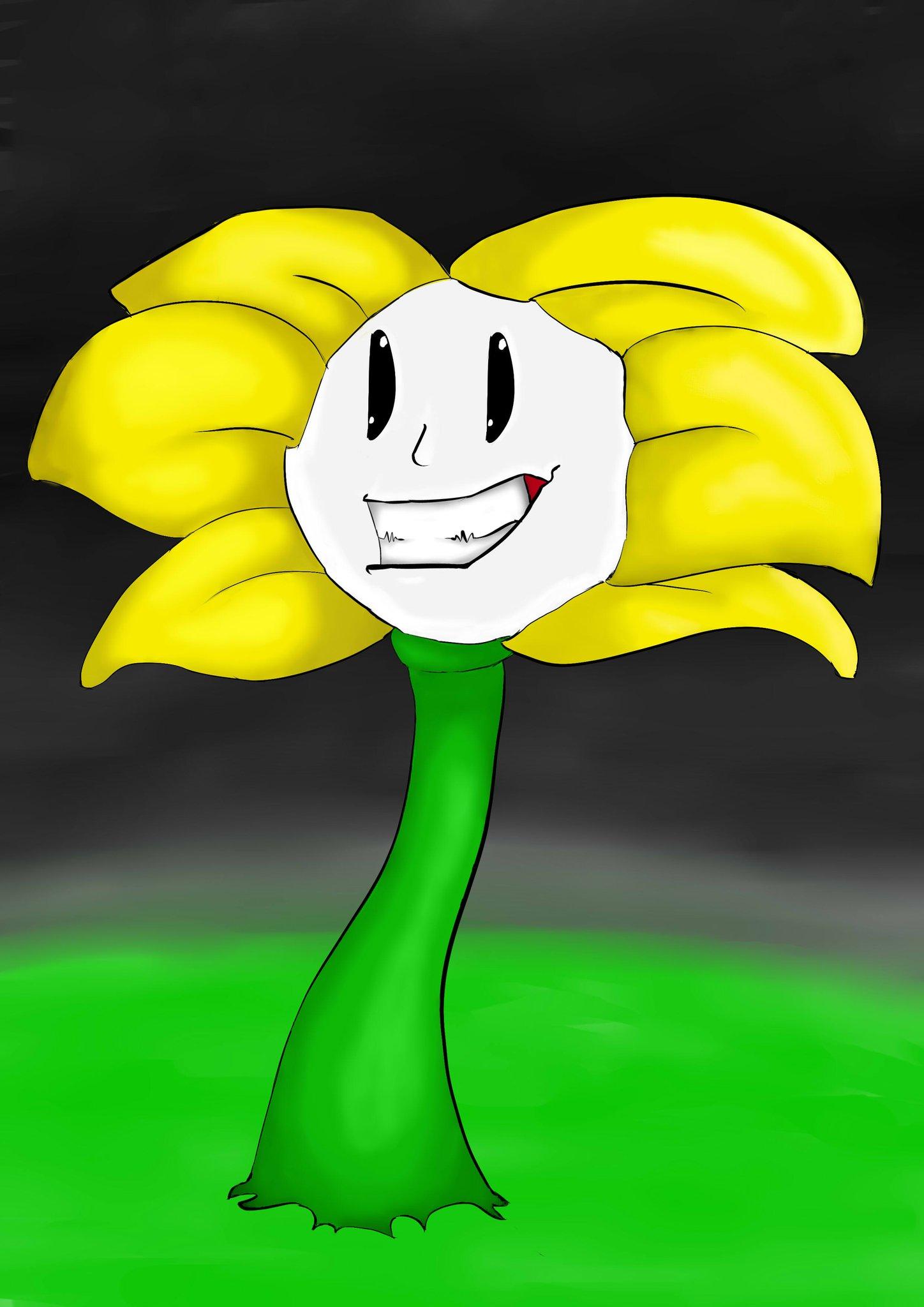 Flowey The Flower by JeffTheGameur on DeviantArt