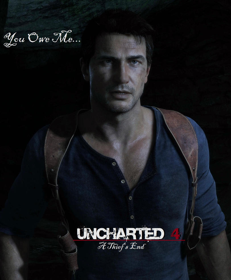 Uncharted 4 A Theif's End Bowsy Cover 4 by superminer