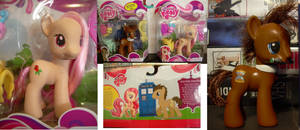 Dr Whooves and Rose my little pony g4 in box