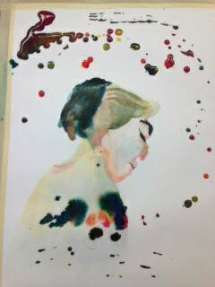 Watercolor Woman by ElChavo197