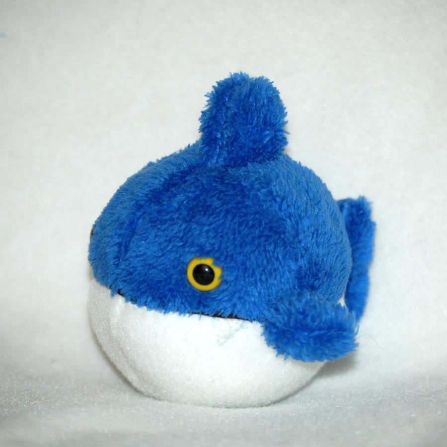 Big fishie plush by Greencherryplum