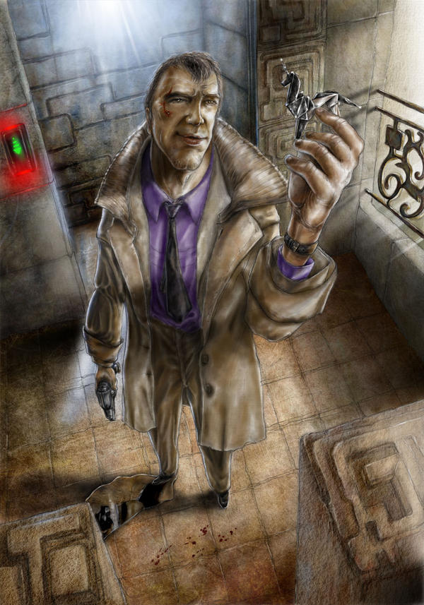 Deckard, the Blade Runner by antupainamku