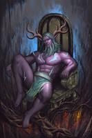 Stormrage Throne by trungvip99