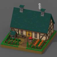 Farmhouse/Voxelarts