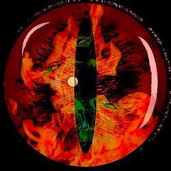 Dragon's blazing eye