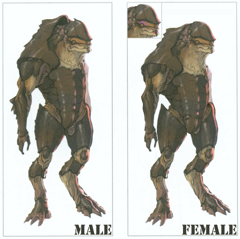 Female Krogan by Asurael-Returns