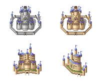Pixel Castles by Asurael-Returns