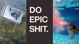 Do Epic Shit. Wallpaper