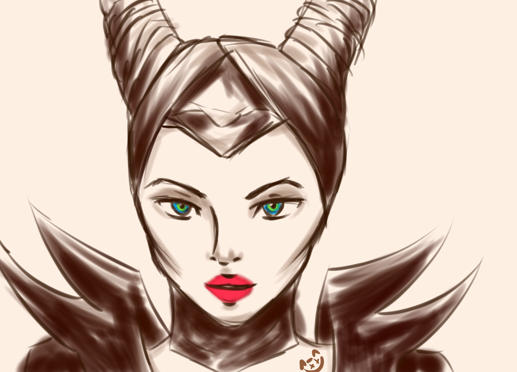 Maleficent by Aikoo92