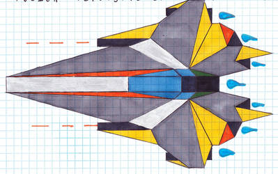 Modified Verdigris-class Starfighter