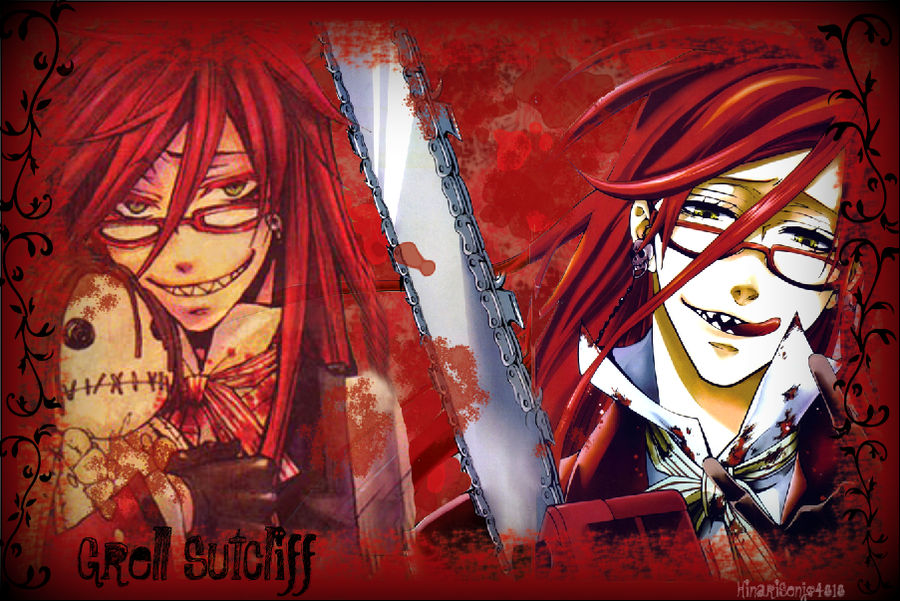 Grell Sutcliff Wallpaper by HinariSenjo4818