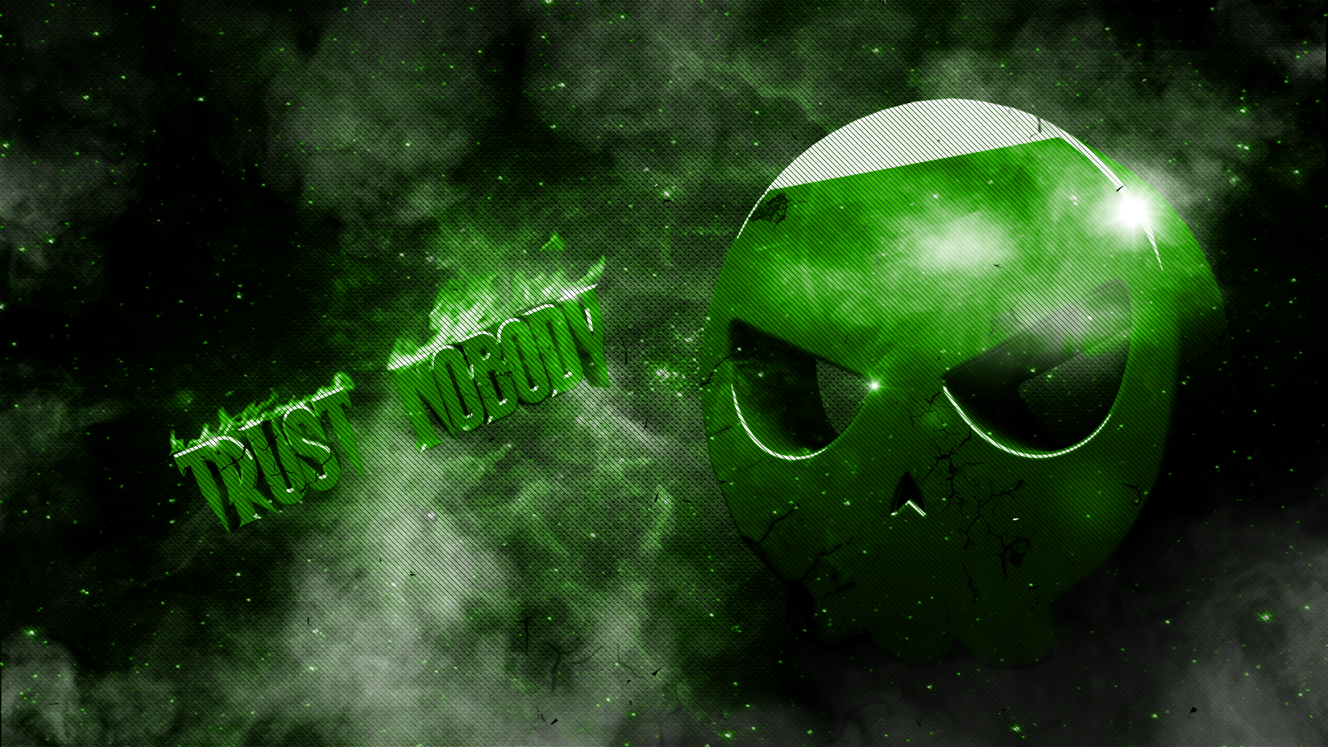 cool green skull wallpapers viewing gallery