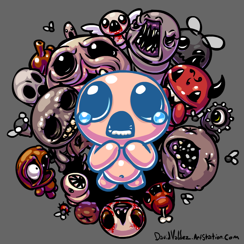 Binding Of Isaac By DavidValdez On DeviantArt