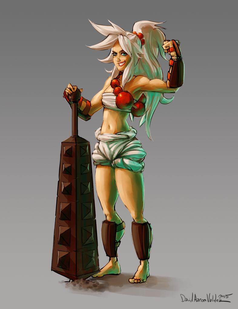 Kanabo Fighter by DavidValdez