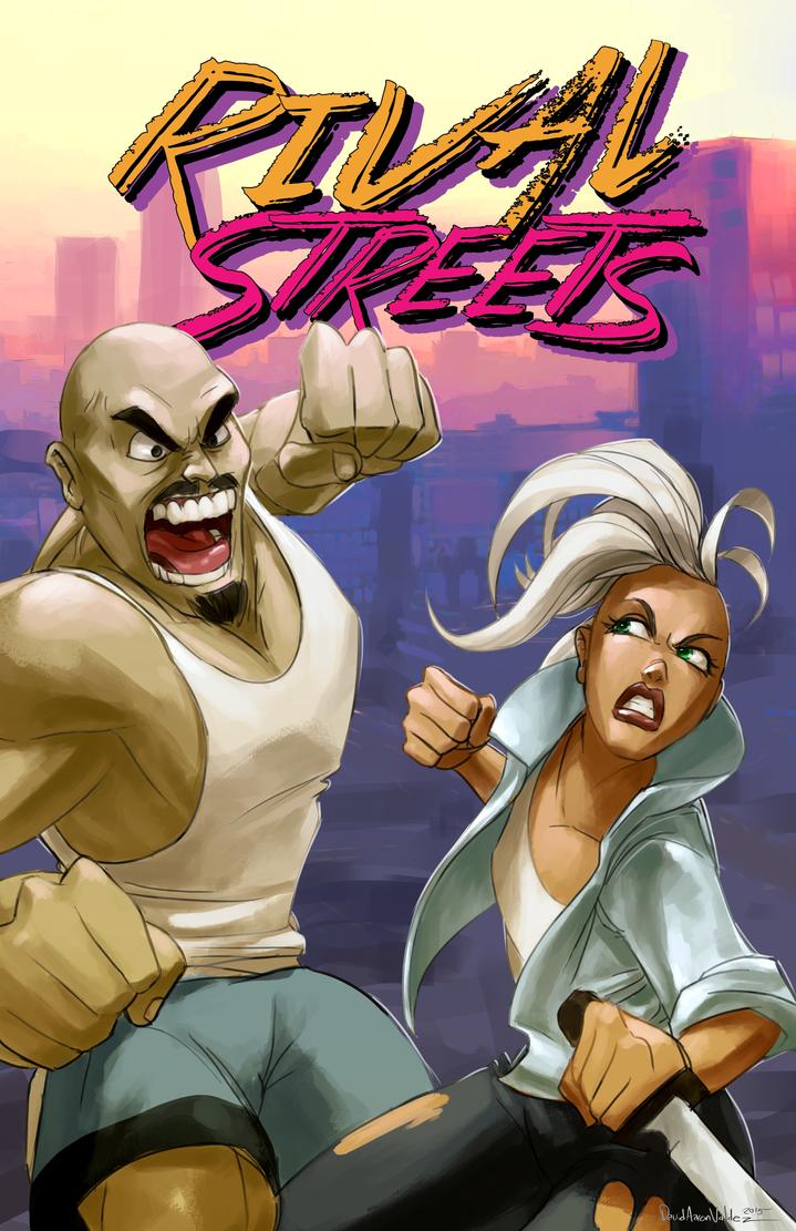 Rival Streets Poster by DavidValdez