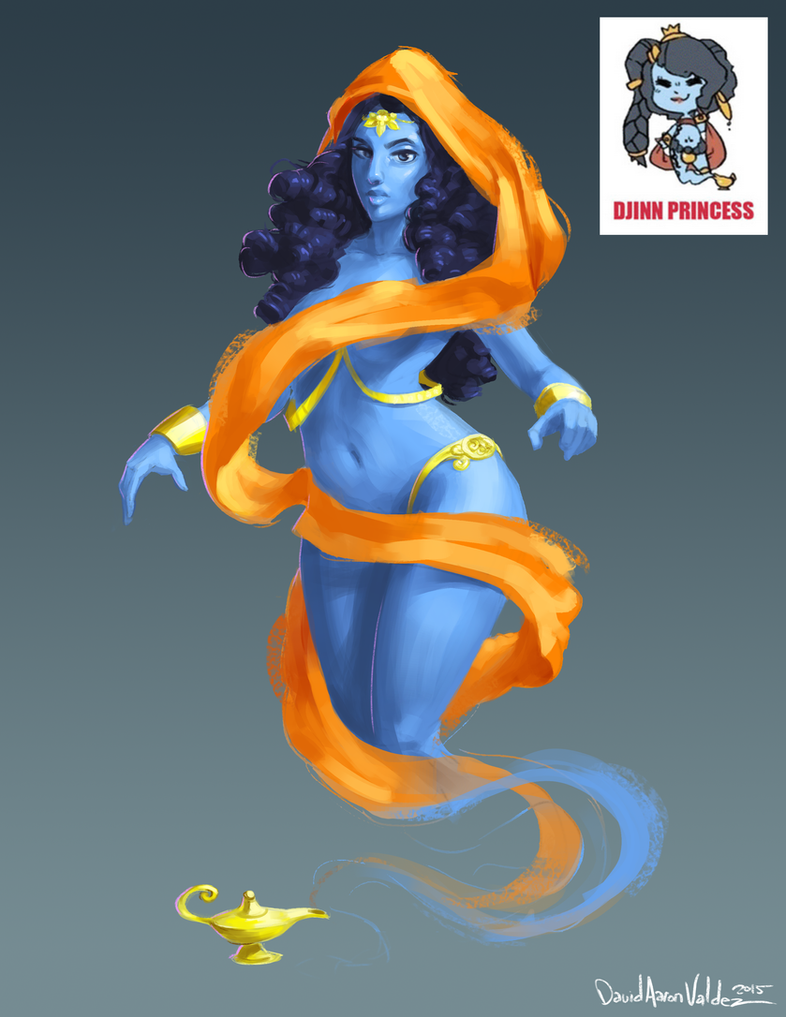 Djinn Princess by DavidValdez